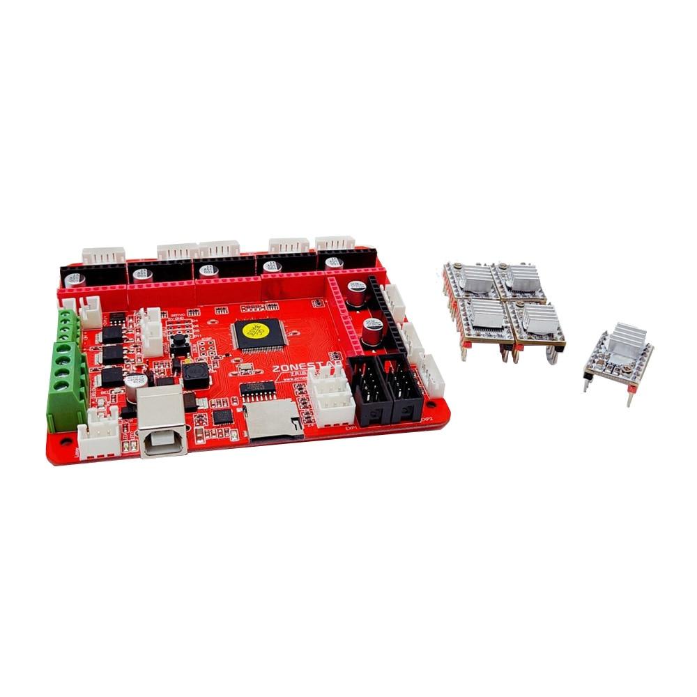 Aibecy ZONESTAR ZRIB Controller Board Mainboard Adottare Atmega 2560 MCU Compatibile per le Rampe 1,4 RepRap Mendel i3 FDM 3D Printer