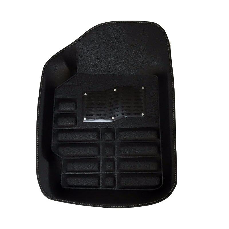 Tapis de sol de voiture tapis tapis tapis de sol accessoires pour audi a3 8l 8 p berline sportback a4 b5 b6 b7 b8 a5 b8 a6 c5 c6 c7 - 2