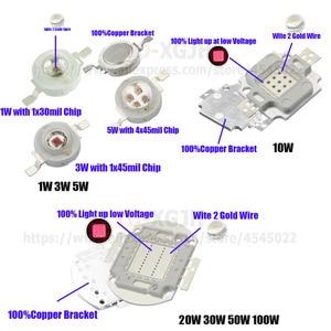 Image 4 - 3 W 5 W 10 W 20 W 30 W 50 W 100 W High Power LED COB Chips IR 100 0nm Infrarot Emitter Lampe Licht Wulst 100 0Nm 3 5 10 20 30 50 100 W Watt