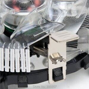 Image 2 - שולחן עבודה 3in1 מעבד למעבד מאוורר סוגר בעל גוף הקירור בסיס עבור LGA775 1150 1156 1155 775 1366 או 2011 או AM2 AM3 או AM4