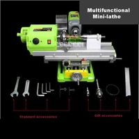 DT 1009 Micro Beads Machine Household High Precision Small Lathe Processing Wooden Beads Round Beads Machine 220V 480W Hot Sale