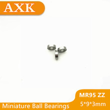 2019 Hot Sale Time-limited Free Shipping Mr95zz Bearing 5*9*3 Mm ( 10 Pcs) Abec-1 Miniature Mr95 Zz Ball Bearings Mr95z L-950zz