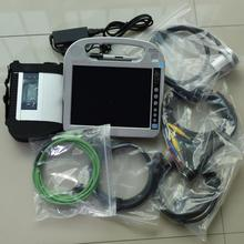 Best Quality SD Connect MB STAR C4 Star Compact C4 with software hdd Professional Diagnostic program with cf-h2 laptop