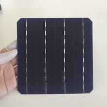 ALLMEJORES Monocrystalline solar cell 20.8% High Efficiency 156mmx156mm Good quality A Grade for diy solar panel 25pcs/Lot