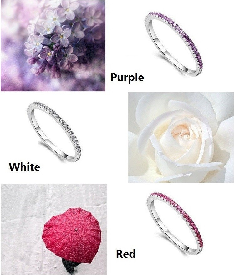Wedding Rings for Women Mystique Girls Purple Red Charms Ring Female Cool Jewelry Anillos Anel Sale Bijoux Femme Wholesale J029 7