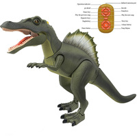 China Made Quality Dinosaur Spinosaurus Forward Lighting Electric Remote Control Toys For Children Model Ready to go Animal
