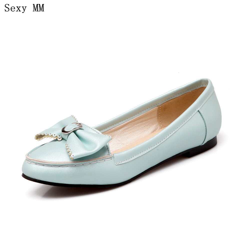 Oxfords Shoes Women Loafers Flats Woman Flat Shoes Soft Comfortable Casual Shoes Plus Size 34 - 40 41 42 43 44 45 2017 fashion women shoes woman flats high quality casual comfortable pointed toe rubber women flat shoes plus size 35 42 s097