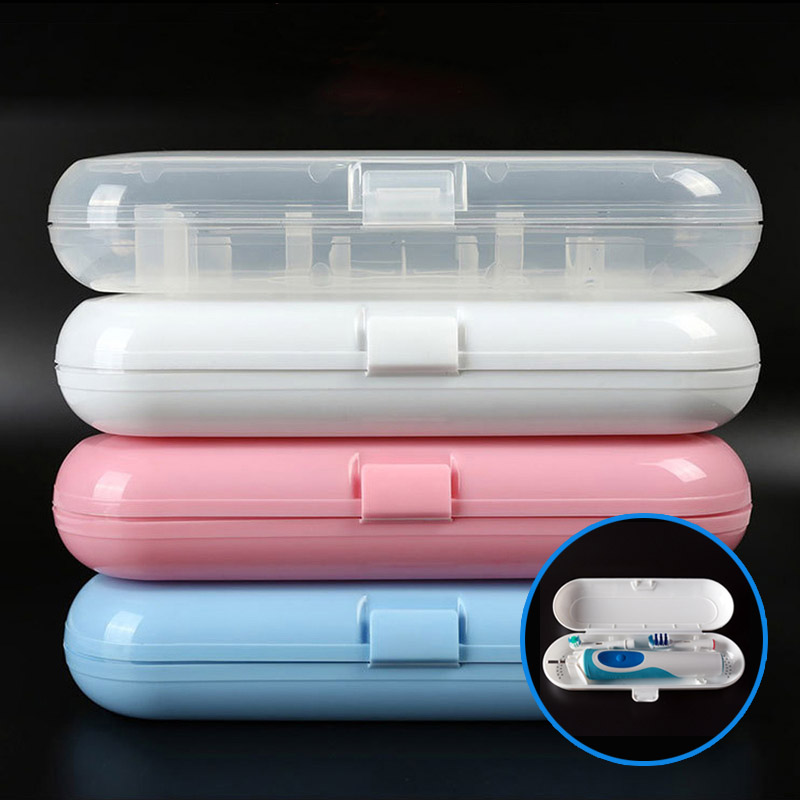 Portable Electric Toothbrush Travel Case Replacement Head Holder Box for Oral B Family Outdoor Tooth Brush Protective Storage image