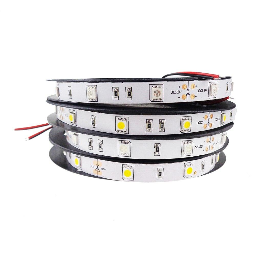 Free Shipping High lumen SMD5050 30LEDs/m Outdoor Lighting 12V/24v Flexible LED Strip Light