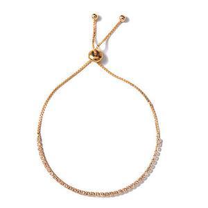 3952f1888e9 zheFanku Chain Bracelets For Women Silver Crystal Jewelry