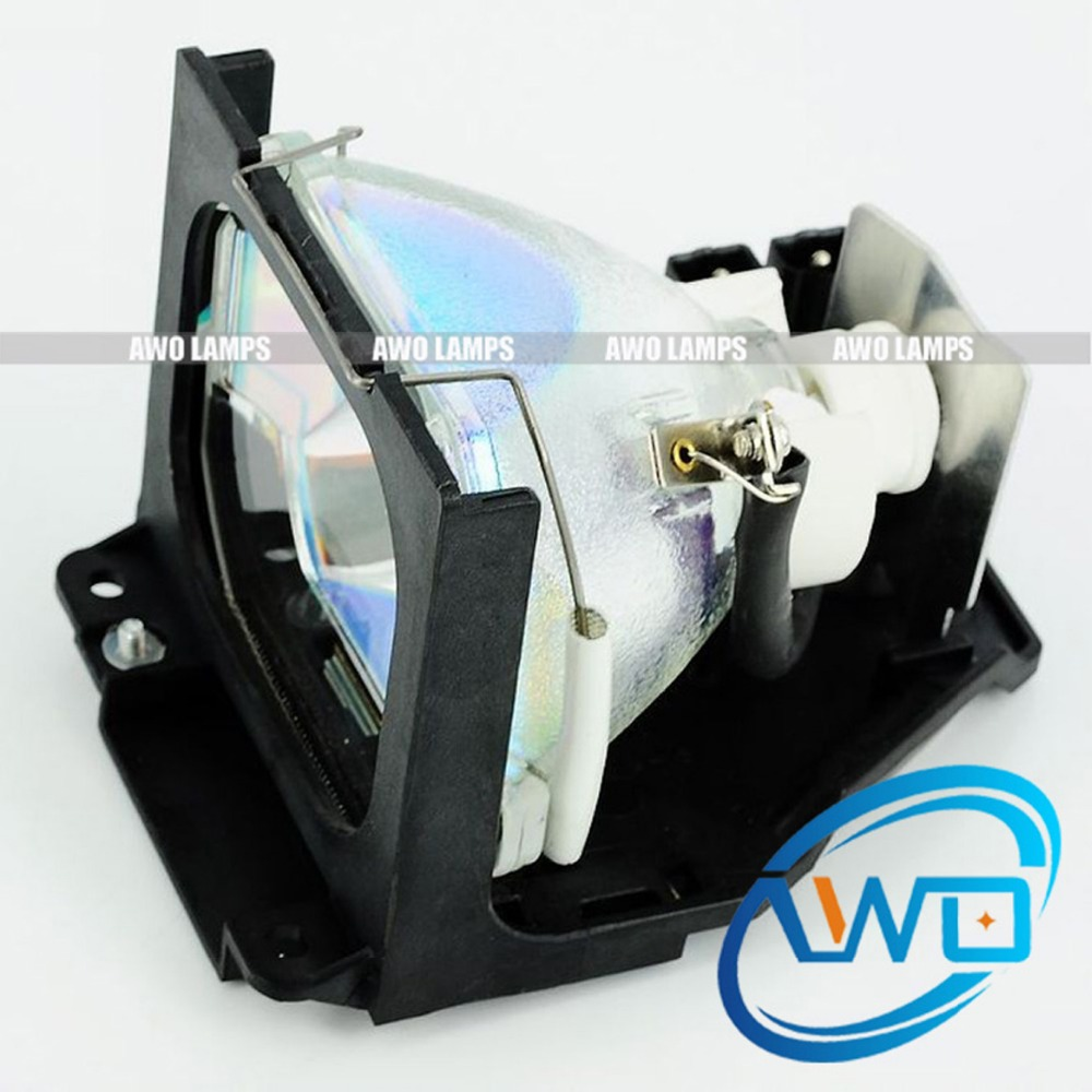 AWO Quality TLPLX10 Projector Lamp with HOusing for TOSHIBA TLP-MT7/X10/X10E/X10Y TLP-X11/X11E/X11Y TLP-X20/X20E/X20Y/X20DE awo compatibel projector lamp vt75lp with housing for nec projectors lt280 lt380 vt470 vt670 vt676 lt375 vt675