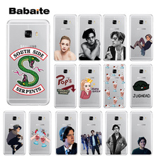 Babaite Riverdale South Side Serpents Novelty Fundas Phone Case Cover for Samsung S5 S6 S6 edge Plus S7 S8 S8plus S9 S9plus все цены