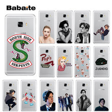 Babaite Riverdale South Side Serpents Novelty Fundas Phone Case Cover for Samsung S5 S6 S6 edge Plus S7 S8 S8plus S9 S9plus(China)