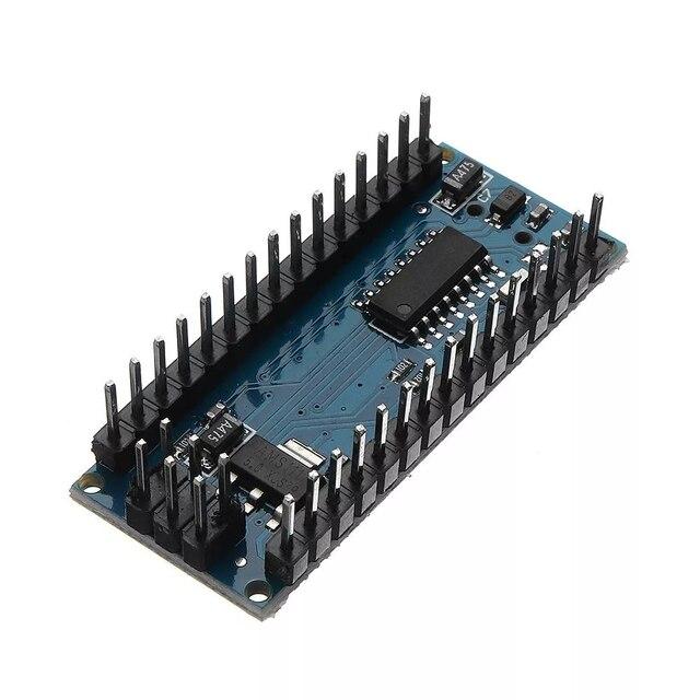 5 pcs/lot Mini carte contrôleur USB CH340 Nano v3.0 3.0 ATmega328P Compatible pour Arduino Nano CH340 pilote USB ATmega328
