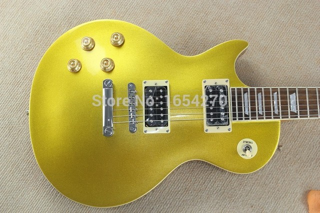 free shipping 2017 hot sell LPR-7 Goldtop Left-Handed perfect Electric guitar 150717 2