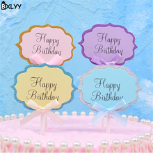 BXLYY Hot 5pc Cake Insert Can Write Greetings Birthday Cake Decoration Accessories Flag Party Supplies Christmas Halloween.7z