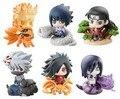 6 pçs/set PVC 6 cm Bonito Naruto Sasuke Gaara kunai Naruto Anime Figuras de Ação Brinquedos Para Crianças Modelo Animal para Crianças Brinquedos W002