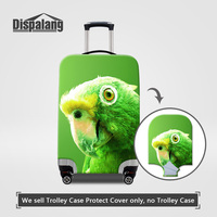 Dispalang Pretty Parrot Animal Printed Luggage Protective Covers For 18 30 Inch Trolley Case Spandex Elastic