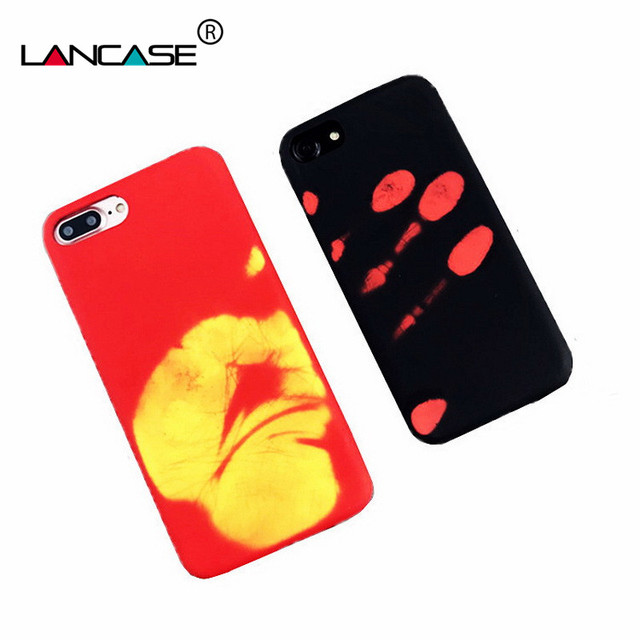innovative design 3cdea ed129 US $5.56 |Discolored Magic Case Coque For iPhone 6 Cover Silicone Soft TPU  Thermal Sensor Phone Bag For iPhone 6s 6 Plus Heat Tough Fundas on ...