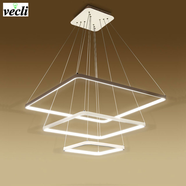 Led apparecchi di illuminazione lampadario lampadari moderni luce ...
