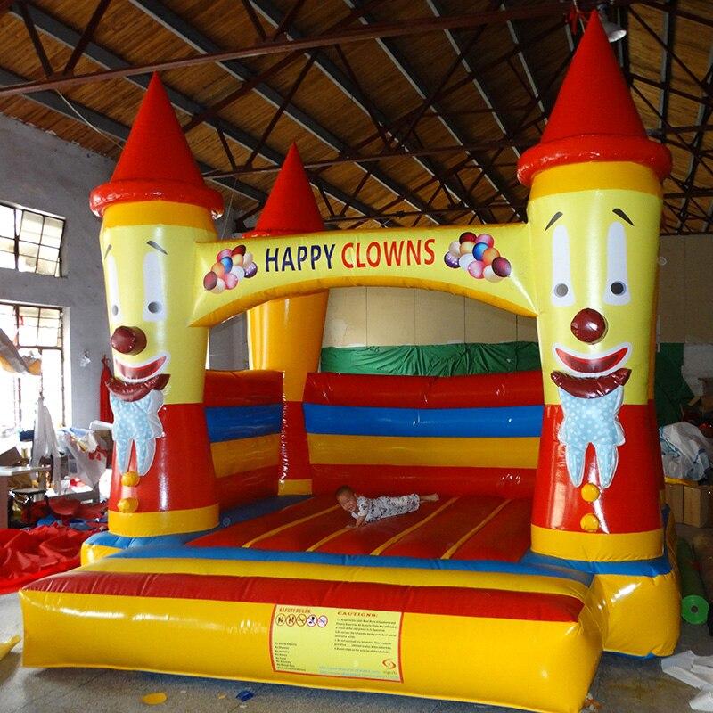 Équipement gonflable de terrain de jeu d'intérieur en gros de maison de rebond pour des enfants
