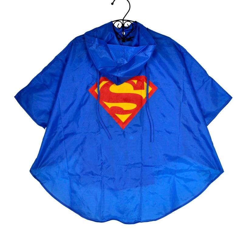 Kid Raincoat Clothes Waterproof Super heroes Kids Rain Coat Child Superman Batman Superhero Rainwear Rainsuit Cloth for Children