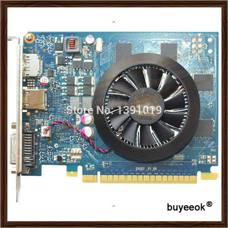 Original Genuine GTX650M GTX 650M 1GB 1024MB DDR5 Game Graphic Card For DELL Display Video Card GPU Replacement Tested Working
