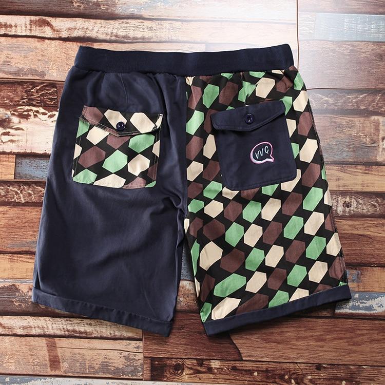 Free Shipping Men Plus Size Big Casual Shorts Cotton Knee-length Elastic Waist Short Trousers Extra Large Men's  2xl-8xl Hip Hop