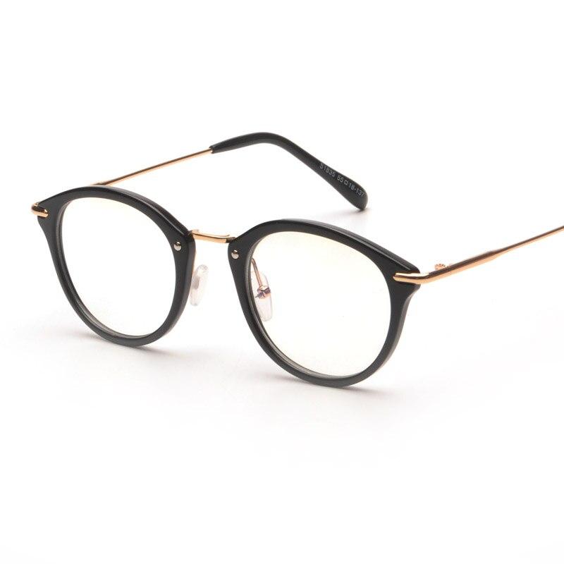 Anti Blue Ray gracia Unisex gafas marco Vintage llanura mujer hombre  ordenador gafas de cristal marco marca diseñador oculos de grau 52bc6d8d58