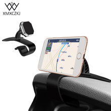 XMXCZKJ Car Holder Universal 360 Degree Magnetic Phone Car GPS Holder For iPhone Samsung Xiaomi For Magnet Mount Holder Stand