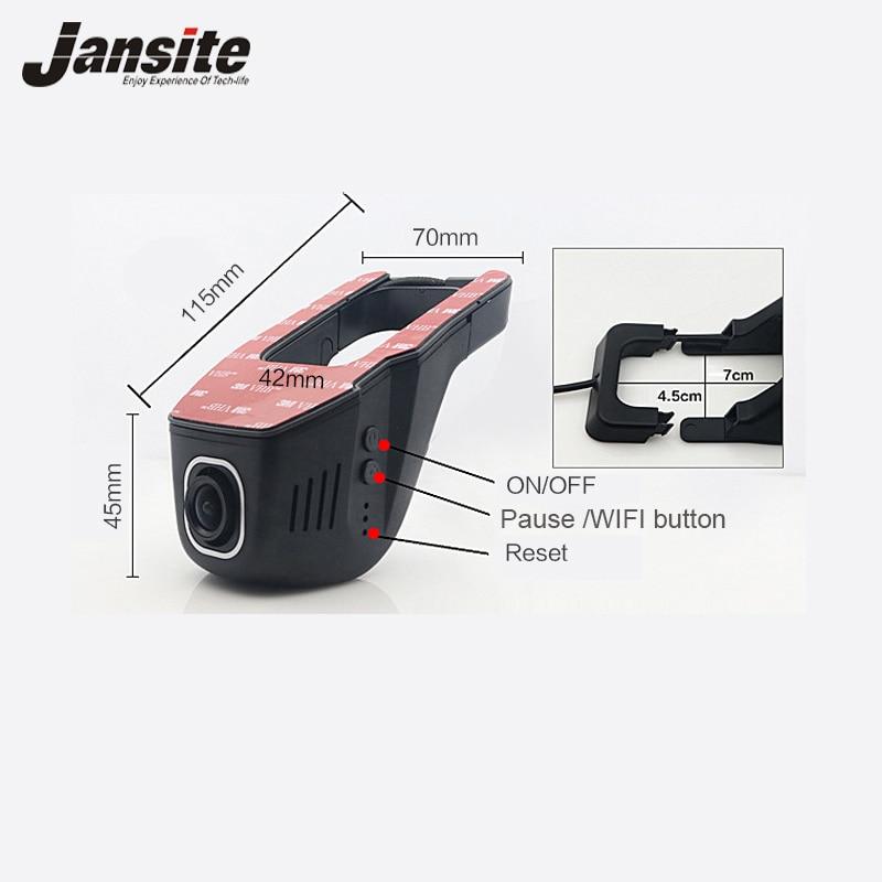 Car DVR Mini Wifi Car Camera Full HD 1080P Dash Cam Registrator vehicle Video Recorder Camcorder Dual Lens Dvr App Control