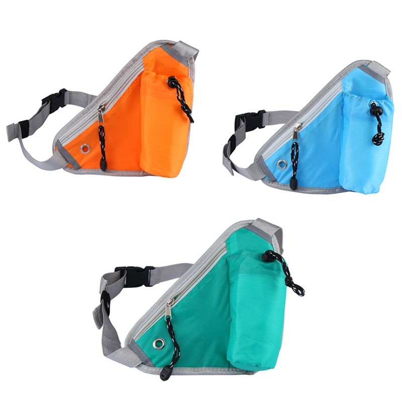 Practical Multifunction Waist Bag Hiking Cycling Running Triangle Pouch Sport Bag Accessories