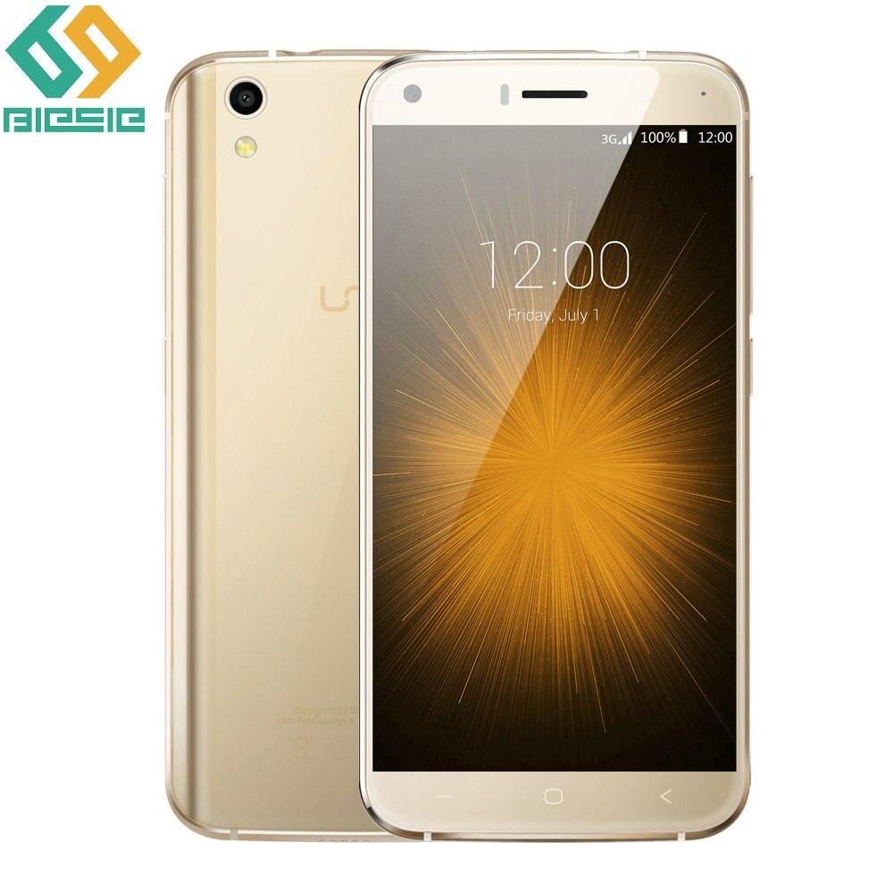 """Цена за Оригинал UMI Лондон Мобильный Телефон 3 Г WCDMA Android 6.0 """"MTK6580 Quad Core CPU 8 Г ROM 1 Г RAM 2050 мАч Батареи GPS IPS Мобильного Телефона"""