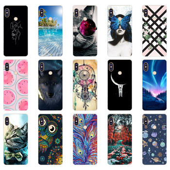 Q silicone case For 5.99 inch Xiaomi Redmi Note 5 global pro Case Cover redmi note 5 Snapdragon 636 version note5 pro case image