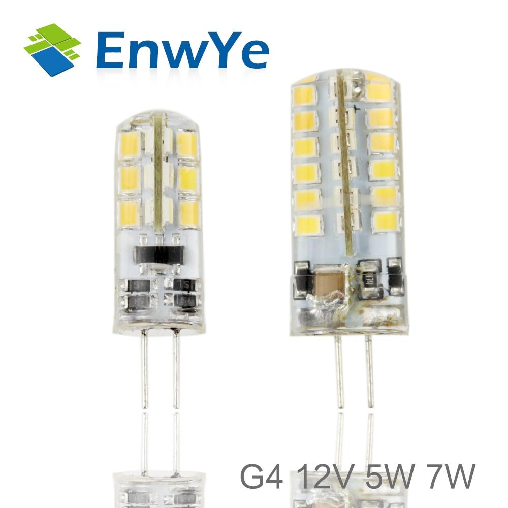 5X//LOT G4 COB 12V 4W-12W LED Bulb Hole Lamp for Crystal Home Light Spotlight UK