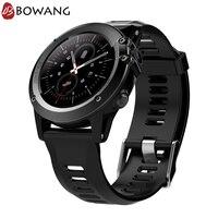 Для мужчин SIM 3g умные часы с WiFi gps Android IP68 Водонепроницаемый Smartwatch BOWANG BT4.0 5,0 м Камера для iPhone Смарт Носимых устройств W23