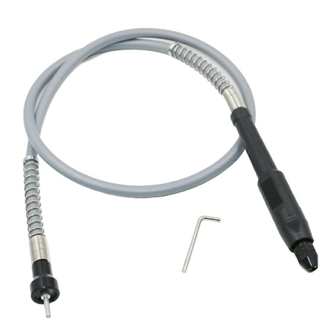 Universal 895-910mm Aluminum Flexible Flex Shaft with Keyless Chuck