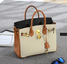 Luxury Brand Desinger Handbag Women's Leather Bag Padlock Woman Tote Bags Litchi Genuine Leather Handbags Shoulder Crossbody Bag
