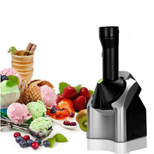купить Ice Cream Machine Small Automatic Children's Fruit Ice Cream Maker Kids Homemade DIY Ice Cream Making Machine 220v по цене 1266.15 рублей