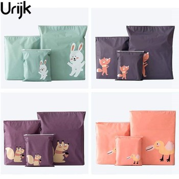 Urijk 1PC Travel Pouch For Shoes Portable Storage Bag Waterproof Clothing Bags Self Sealing Underwear Shoes Sorting Bags