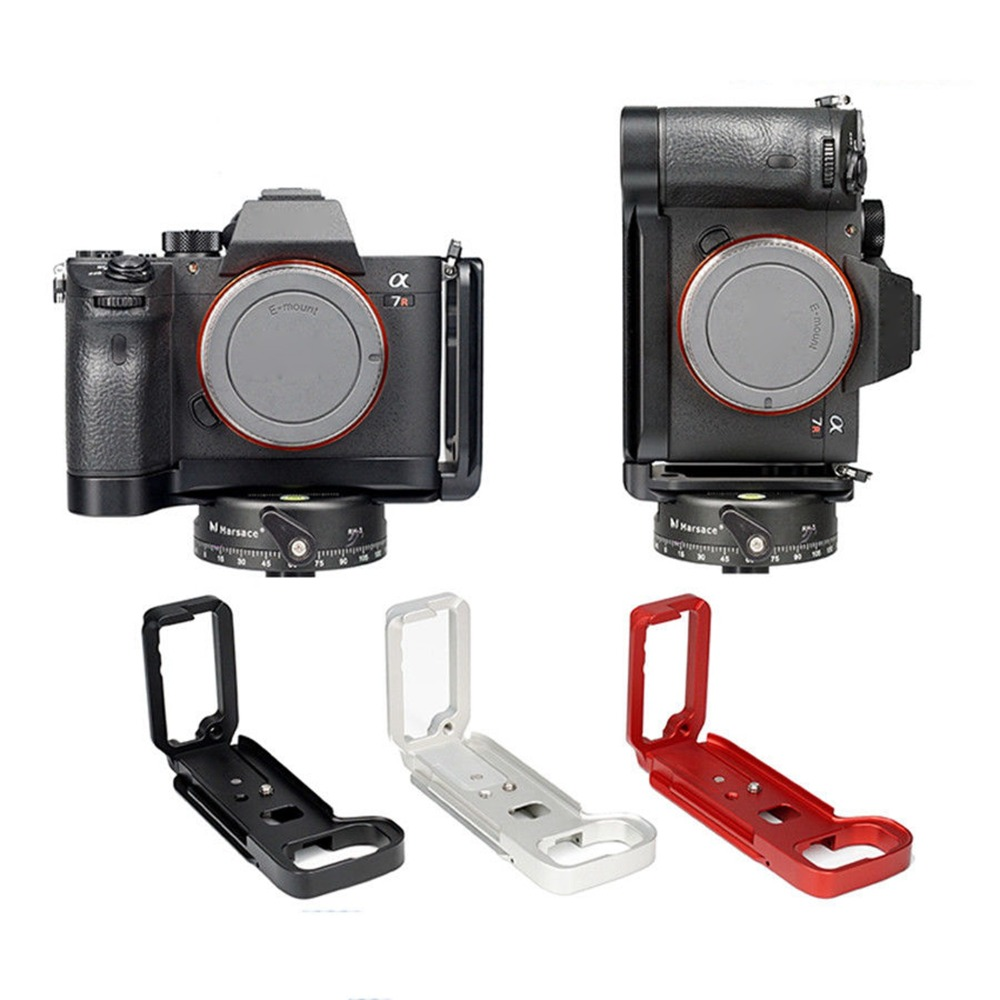 XBERSTAR L Plate Bracket Camera Hand Grip Camera Holder For SONY A7M3/A9/A7R3 Stand