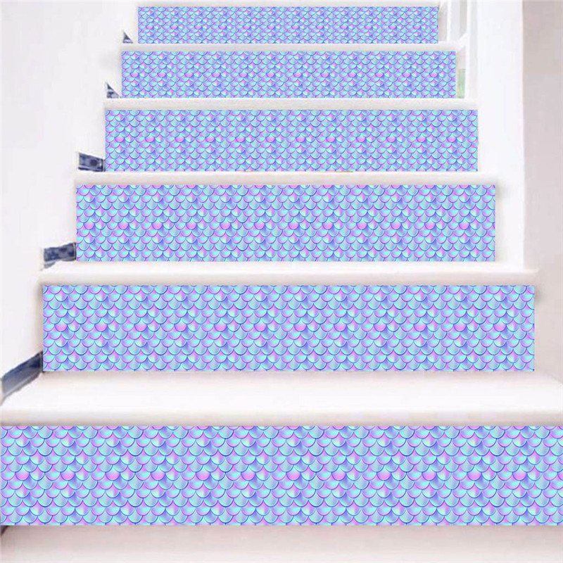 Image 4 - 3D Simulation Stair Stickers Waterproof Wall Stickers DIY Home Decor Room Decoration vinilos decorativos para paredes New-in Wall Stickers from Home & Garden