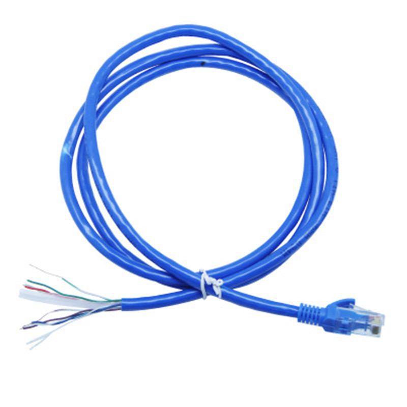 Network cable blue super 6 finished product network cable twisted pair outdoor waterproof network cable  TYJ006Network cable blue super 6 finished product network cable twisted pair outdoor waterproof network cable  TYJ006