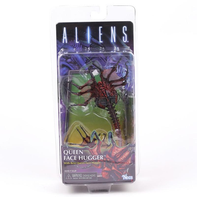 """Gli alieni QUEEN Face Hugger giocattolo BETA 7/"""" ACTION FIGURE BAMBOLA DA COLLEZIONE SERIE 10"""