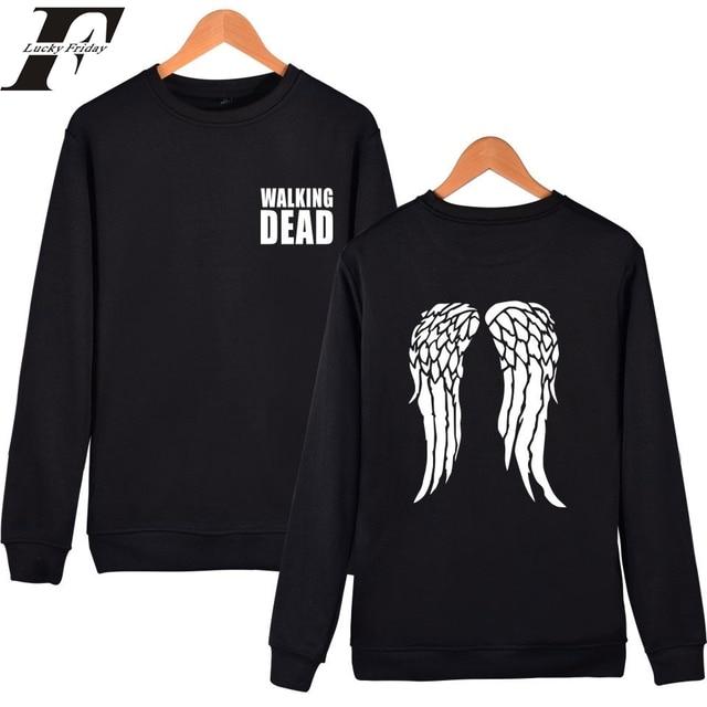 2017 The Walking Dead Imprimer Sweatshirts hommes femmes survêtement Pull  de Sport plus la Taille XXS a2a7d61ee6e9
