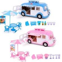 Peppa pig George Juguetes Coche comedor coche primavera tour acción figura Original Anime juguetes para niños familia fiesta muñecas cumpleaños regalo