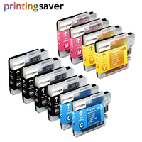Lc980 Lc1100 Ink Cartridges for Brother DCP 145C 165C 195C 197C 385C 585CW 6690CW MFC 250C 290C 490CW 5890CN 5895CW Printer|Ink Cartridges|Computer & Office -