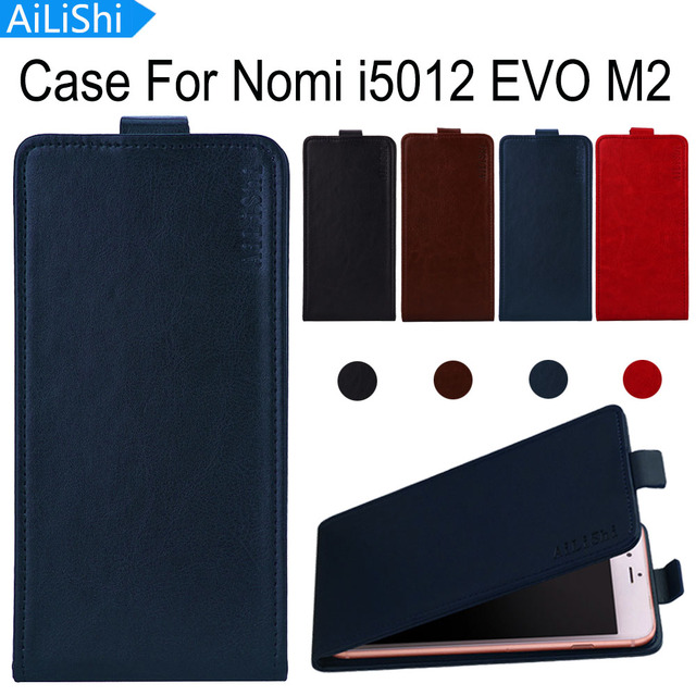 AiLiShi Factory Direct! Case For Nomi i5012 EVO M2 Fashion PU Flip Leather Case Exclusive 100% Special Phone Cover Skin+Tracking