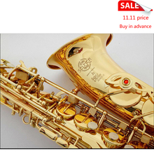 Brand Professional Saxophone E Flat Sax Alto France Henri Selmer Alto Saxophone 802 Saxfone E Flat Musical Instruments