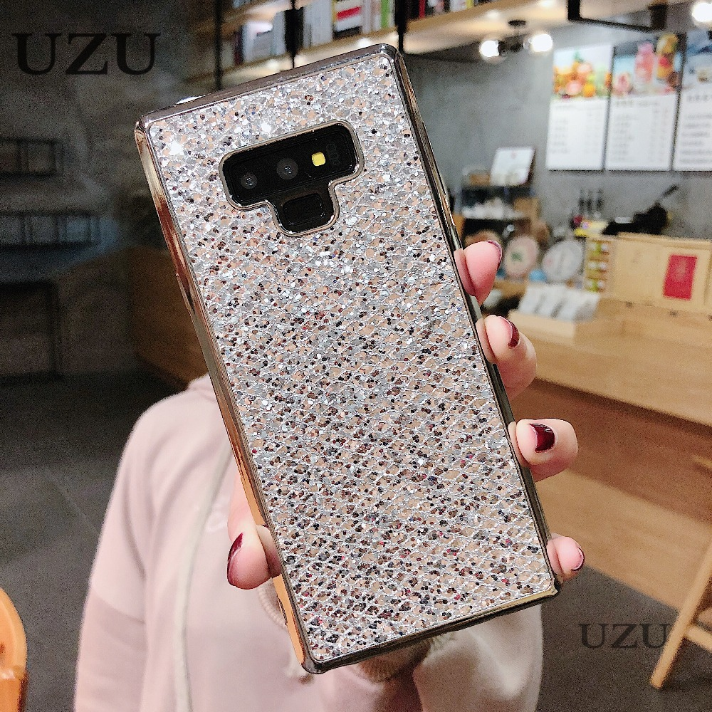 glitter phone case for samsung s6 s7edge s8 s9 plus note8 9 dazzle cover for samsung a3 a5 a7 J3 J5 J7 2016 2017 EU j5 j7 prime